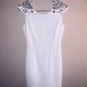 Dresses & Skirts - Elegant, short white dress,PERFECT CONDITION